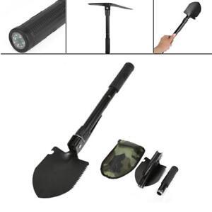 "16.3/"" Military Folding Shovel Outdoor Survival Emergency Garden Camping Tool"