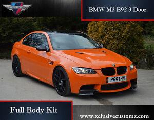 Bmw M3 E92 3 Door Full Body Kit For Bmw 3 Series E92 E93 Ebay