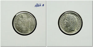 France-1-Franc-1866-A-Napoleon-III-high-grade