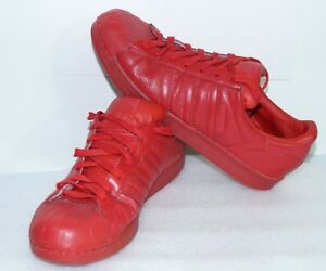 new style a82ad e71dc Details about Dark Red Adidas Superstar Mens Shoes Sz 11.5 Classic Vintage  Clamshell Versatile