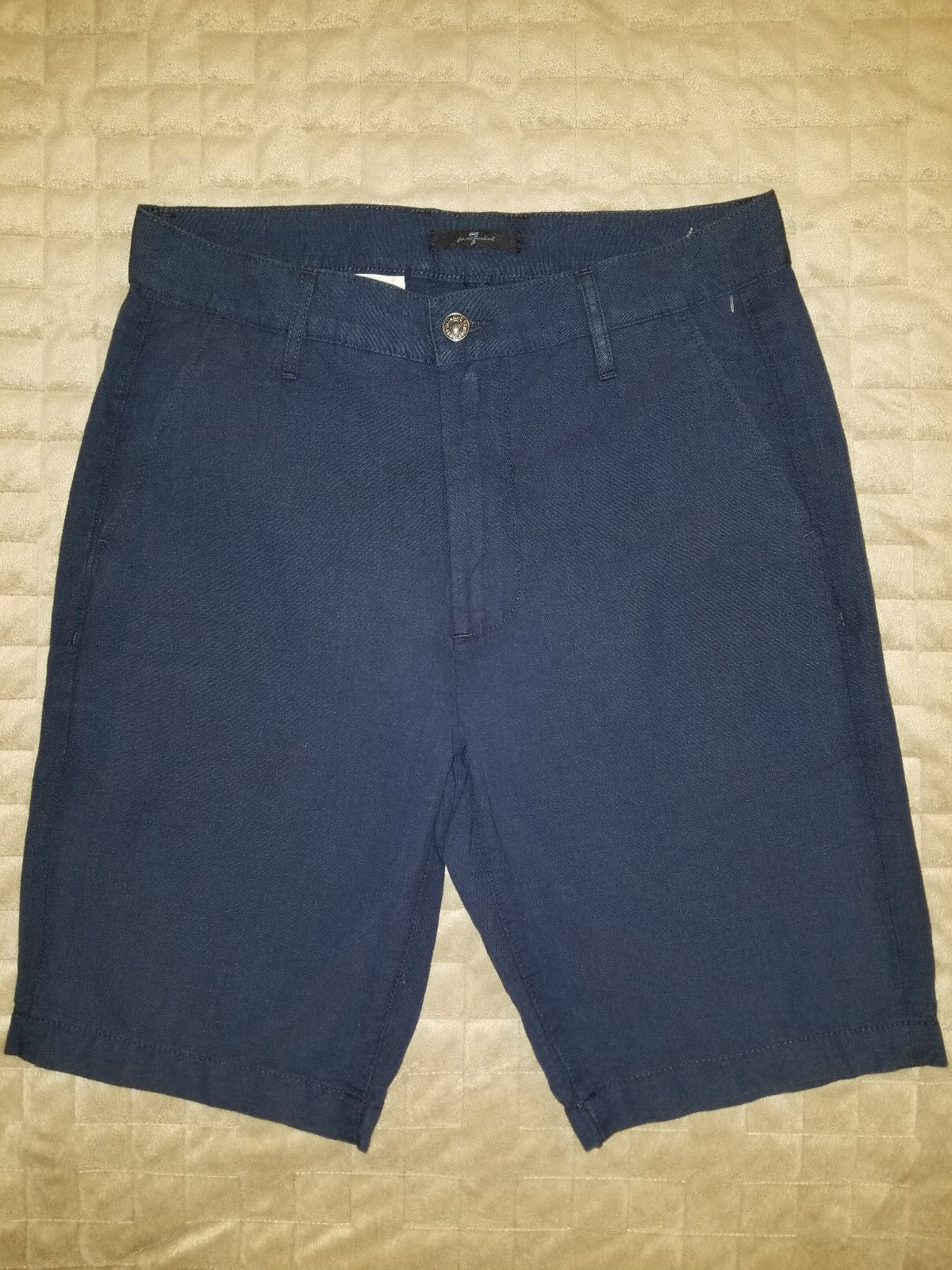 New 7 FOR ALL MANKIND men shorts bluee 29 MSRP