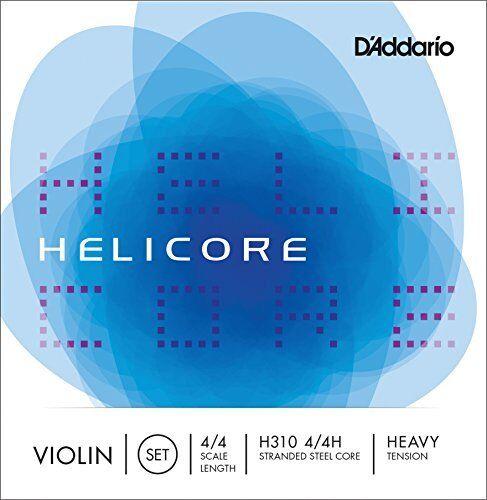 D D D 'Addario Helicore Violín Conjunto de Cuerdas, escala 4 4, tensión Pesado  buena calidad