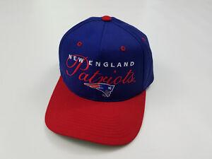 Image is loading New-England-Patriots-Snapback-Hat-Cap-Adjustable-Vintage- 0bcc009c7df6