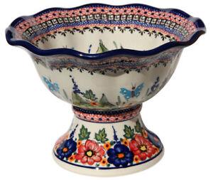 Polish Pottery Market Fruit Bowl From Zaklady GU1722/149ar