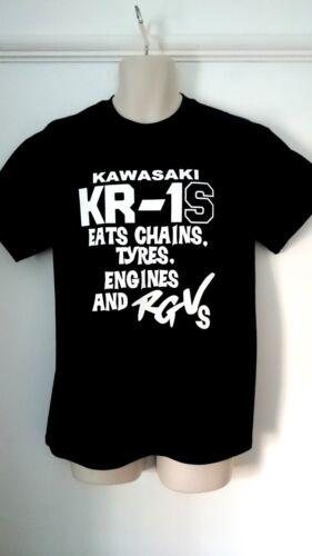 X-L Kawasaki KR1S RGV Eater Moto Hommage T Shirt Taille S L M