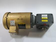 New Listingbaldor 05hp 1750rpm 208 230460v Tefc Cw Gear Reducer 401 Ratio Used