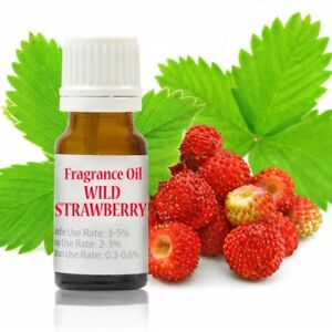 10-ml-Wild-Strawberry-Premium-Fragrance-Oil-for-Soap-Candle-Highly-Concentrated