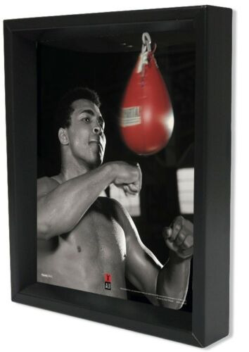 MUHAMMAD ALI SPEED BAG 8x10 3D SHADOWBOX BOXER FIGHTER HEAVYWEIGHT CHAMPION GIFT