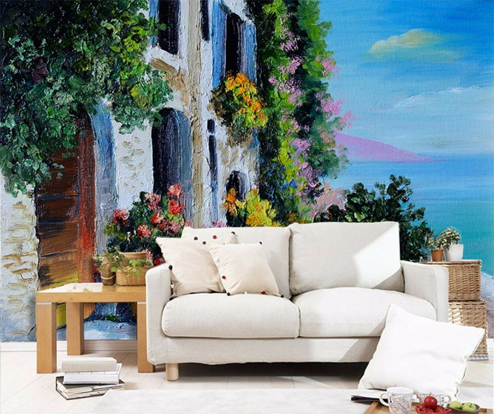 3D Tree rattan 3423 Wall Paper Wall Print Decal Wall Deco Indoor Wall Murals