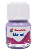 Humbrol AC5217 Maskol - Modellers Liquid Masking Tape 28ml Glass Bottle 1st Post