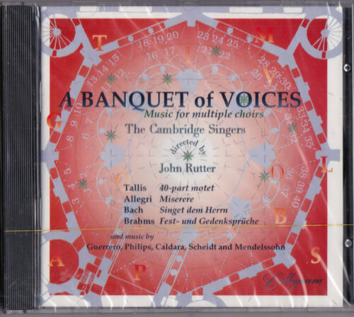 1 of 1 - John Rutter - A Banquet of Voices..New Sealed  (1994)