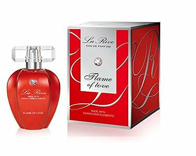 "LA RIVE ""Flame of Love"" Eau de Parfum 1x 75ml made with Swarovski (R) Elements"