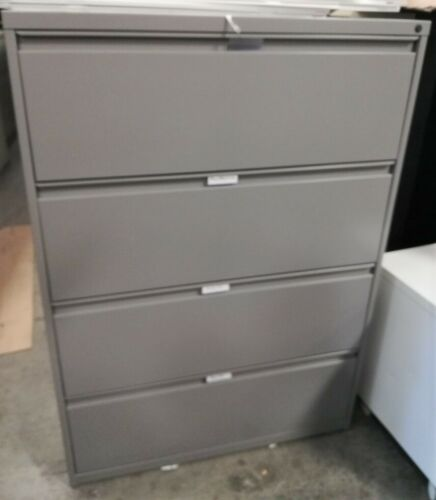 LATERAL FILE CABINETS LOCAL PICK-UP-VERY GOOD CONDITION Beige//Black 4 DRAWER