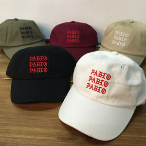 40ccb2df54d I Feel Like Pablo Cap Real friends dad hat Baseball Cap Kanye West ...