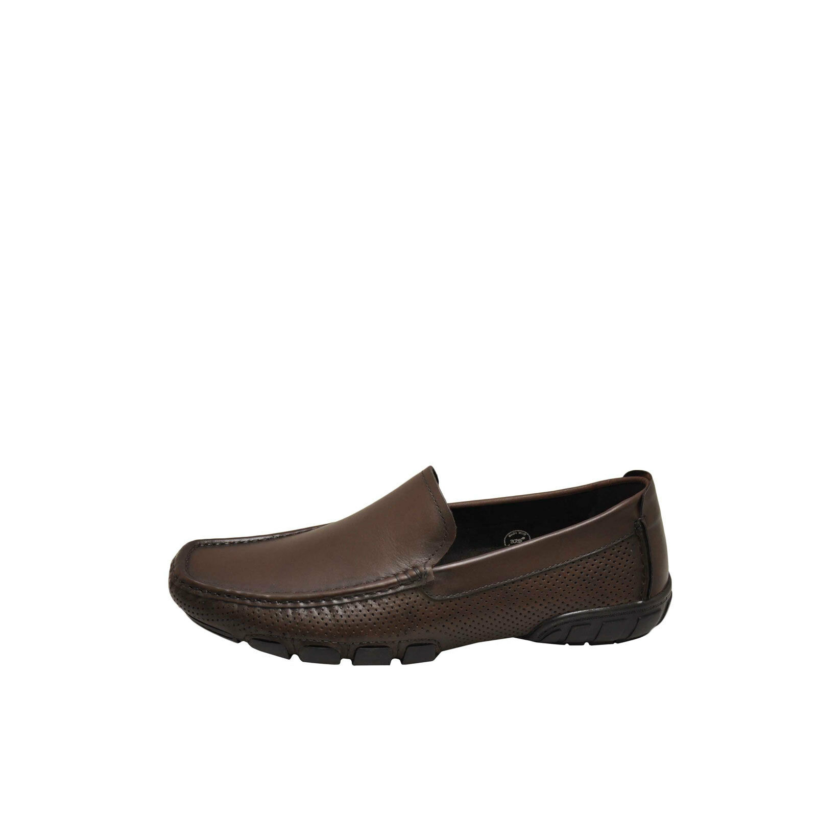 Kenneth Cole Tuff Driver Brown Men's Leather Loafers Loafers Leather KMS8LE017 77574d
