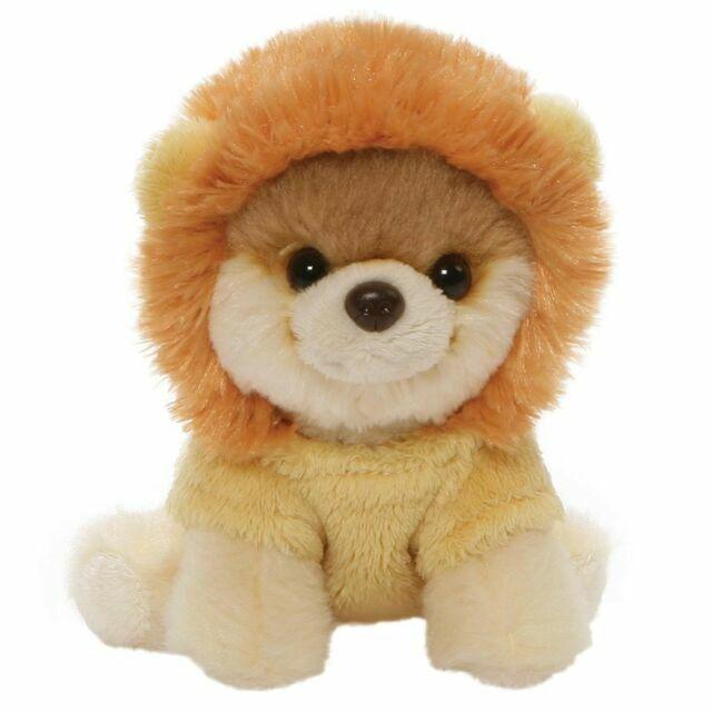 """GUND World's Cutest Dog Itty Bitty Boo #49 Lion Plush 5"""" Stuffed Animal Tan"""