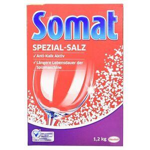 Somat Dishwasher Salt 1.2kg Case of 8
