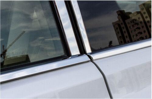 Center pillar B+C pillars window frame For Toyota Prado FJ150 2010-2016 10pcs