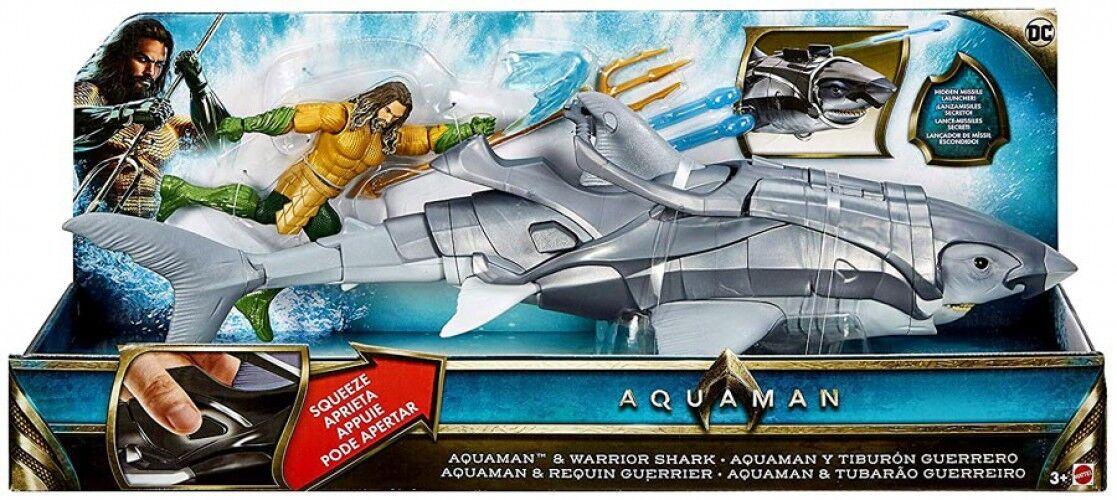 DC Aquaman & Warrior Shark Action Figure Set