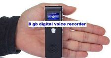 New 8GB USB Stereo Dictaphone MP3 Player Pen Drive Digital Sound Voice Recorder
