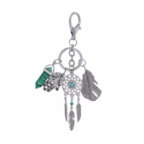 Dream Catcher Feather Tassel Keyring Key Chain Keychain Purse Bag Pendant Charm