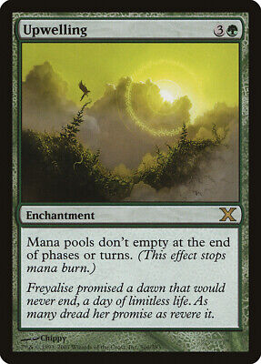 Energiek Upwelling 10th Edition Nm-m Green Rare Magic The Gathering Mtg Card Abugames Goed Verkopen Over De Hele Wereld