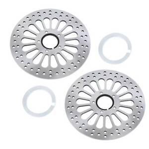 11-5-039-039-Super-Spoke-Front-Brake-Rotors-Disk-For-Harley-84-13-Set-of-Two-M-RT-2100