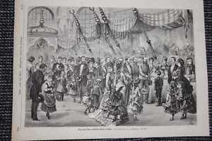 Basar für Waisenkinder in Wien HOLZSTICH von 1876 - Kassel, Deutschland - Basar für Waisenkinder in Wien HOLZSTICH von 1876 - Kassel, Deutschland