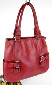 Cole-Haan-Large-Roomy-Leather-Shoulder-Tote-Bag-Hobo-Handbag-Shopper-Purse