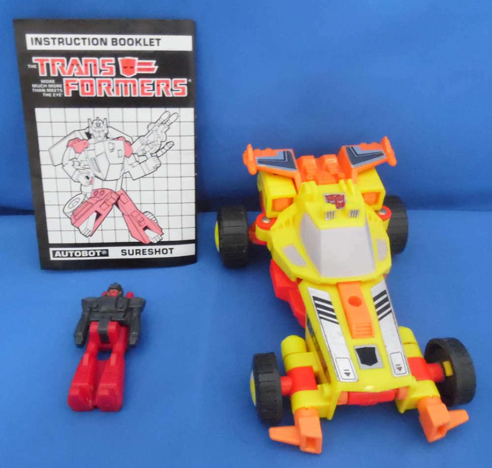 Transformers Surescaliente Generation 1 G1 Vintage Hasbro Loose completare