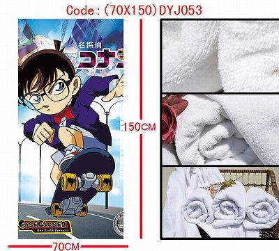 Detective Conan Anime Manga Badetuch Strandtuch Handtuch 150x70cm Neu Jahre Lang StöRungsfreien Service GewäHrleisten Merchandising & Fanartikel Manga & Anime