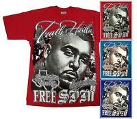 Spm Truth Hustla Screwston Shirt L-3xl Screen Printed Piranha Records