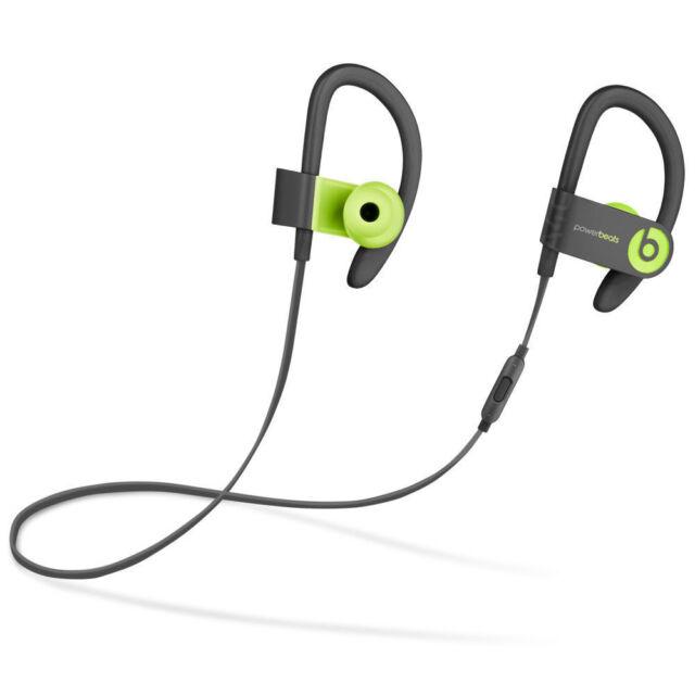 Beats By Dr Dre Powerbeats3 Wireless In Ear Headphones Shock Yellow For Sale Online Ebay