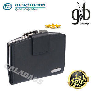 Damengeldboerse-Geldboerse-Wortmann-Avanco-black-hochwertiges-Leder-3511401