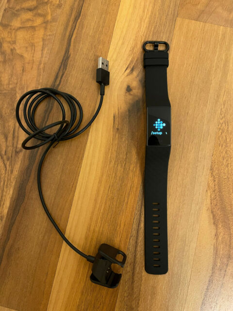 Fitbit Charge 4 Schwarz ⭐ Activity Fitness Tracker - Smartband GPS ✅