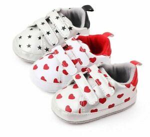 Baby Sneakers Newborn Toddler Footwear Fashion Shoes Apparel Boy Girl Comfy Shoe