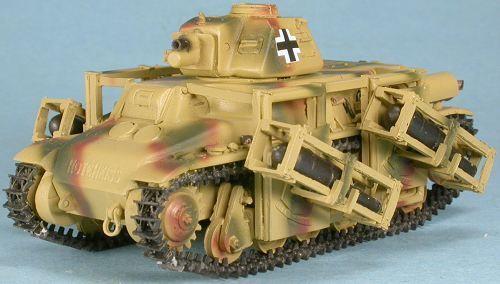 1/48th GASOLINE  WWII  German 39(H) Wurfrahmen