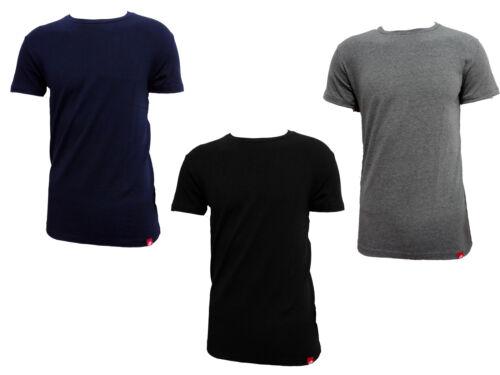 LT1000 3 t-shirt uomo mezza manica girocollo in cotone bielastico LOTTO art