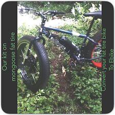"""Electric Bike 500W 26"""" Front Wheel Fat Tire Kit ,Ebike Conversion Kit."""