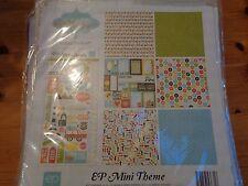 "SALE New Echo Park 12""x12"" Mini Theme Enjoy The Ride"