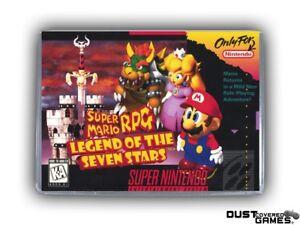 Super mario rpg snes | Super Mario RPG: Legend of the Seven Stars