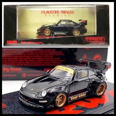 Tarmac Works RAUH-Welt Begriff RWB Porsche 993 Sopranos #23 With Container 1:64