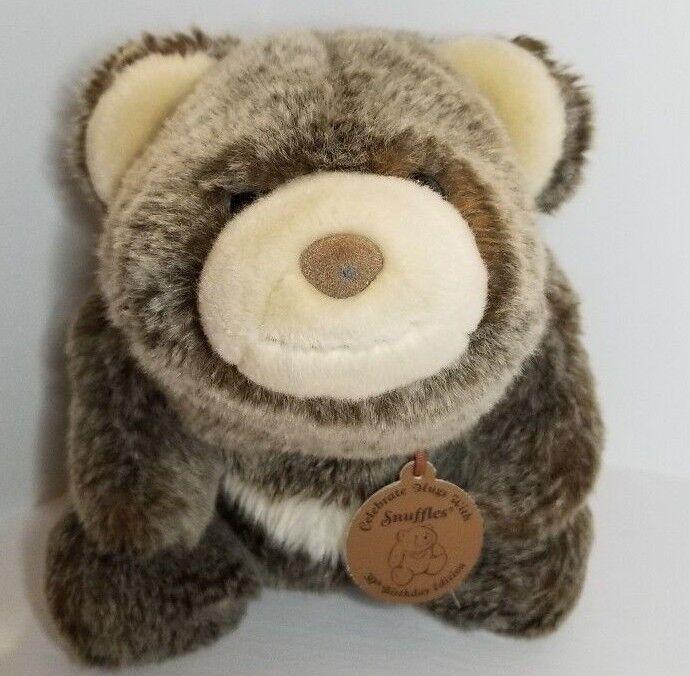 Gund Snuffles Bear 30th Birthday Edition 319930 10  Stuffed Animal Plush