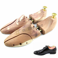 Men Shoe Tree Red Cedar Scent Wood Stretcher Adjustable Us Sizes 8-10 Shoes