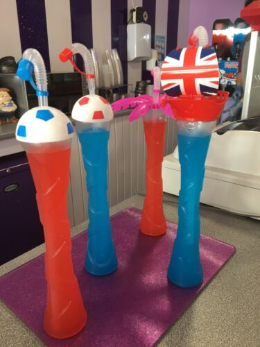 Slush 14oz yard cup slushy cup with lid and straw party novelty cups