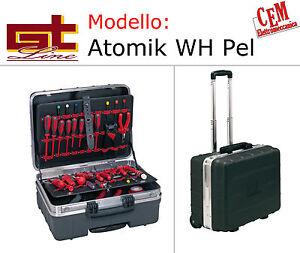 Valigia Gt Line Atomik WH Pel Con trolley porta attrezzi e utensili gtline borsa