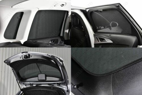 4P PRIVACY SHADES FOR REAR WINDOWS 18609 FOR BMW SERIE 5 E60 07//03/>12//09