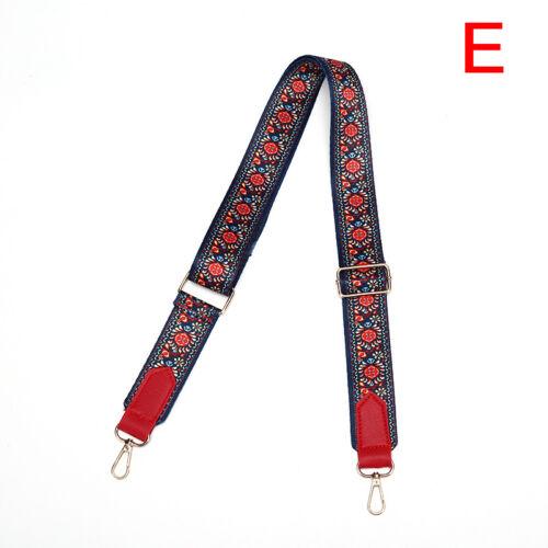 Verstellbarer Taschenriemen Crossbody Ersatz Schulter Handtasche Geldbörse WR
