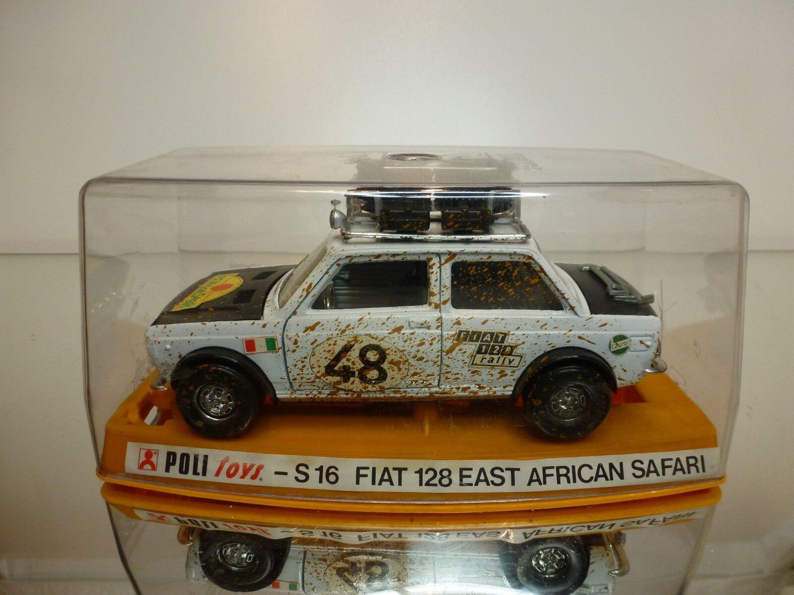 consegna veloce POLIgiocattoli 1 1 1 25 - FIAT 128  Coloreeeee = bianca  - EXTREMELY RARE - EXCELLENT IN CASE  più economico
