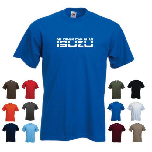 /'My Other Car is an Isuzu/' Men/'s Car Funny Gift Birthday T-shirt
